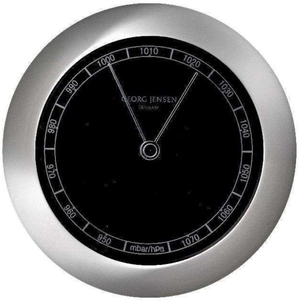 Georg Jensen barometer VENUS zwart kopen