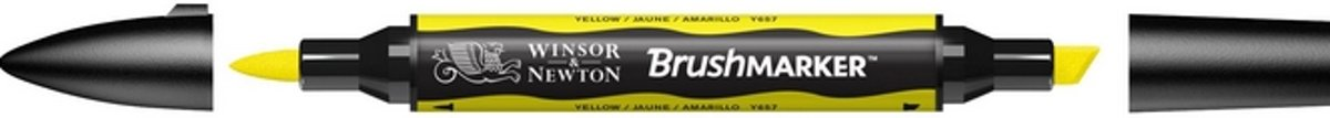 Winsor and Newton BrushMarker Yellow Y657
