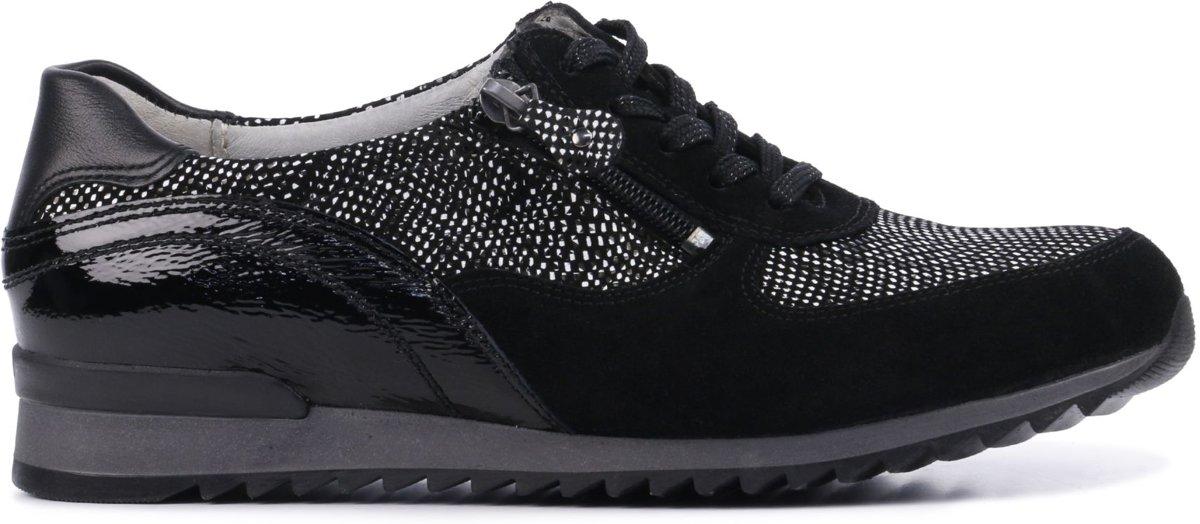 Waldlaufer Vrouwen Sneakers 370013 Zwart Maat 40