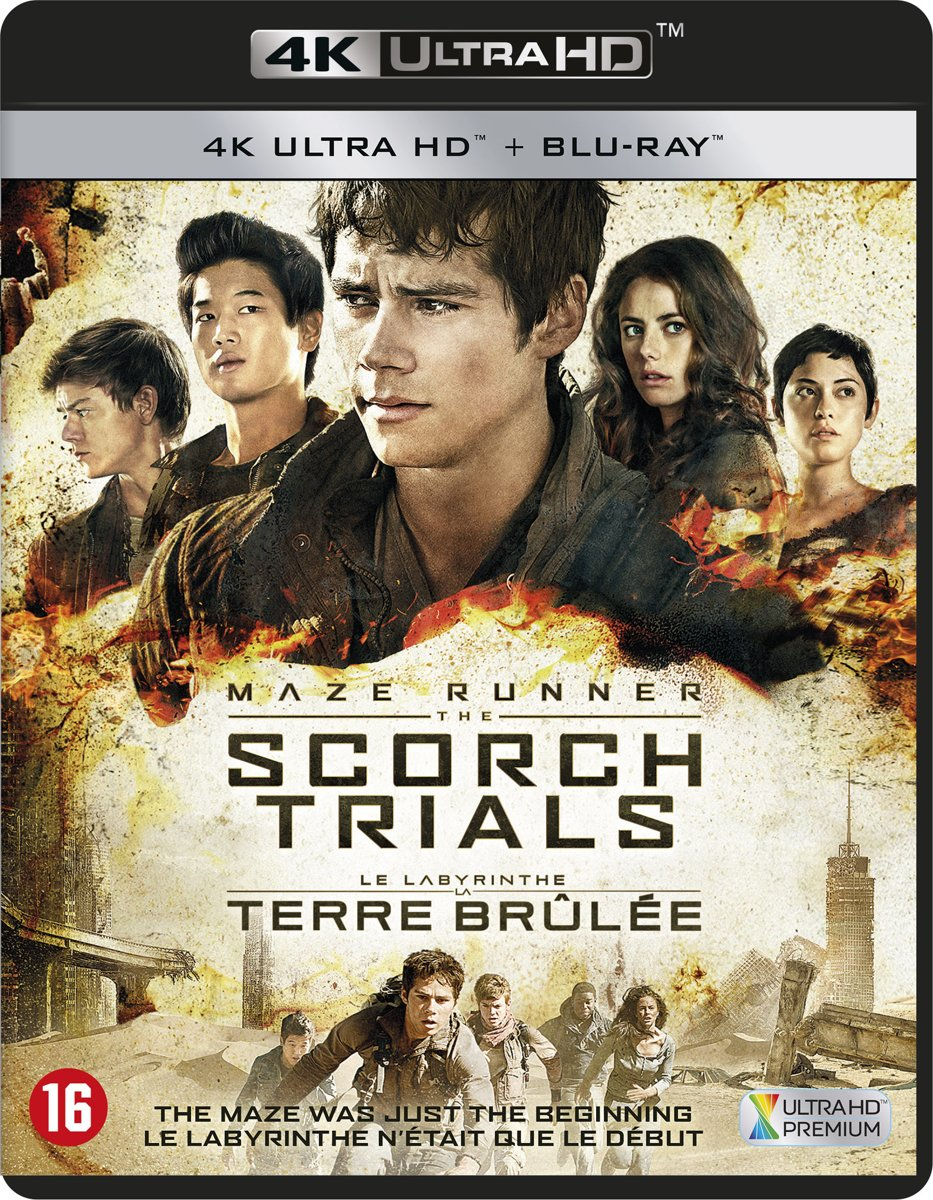 Maze Runner: Scorch Trials (4K Ultra HD Blu-ray)-