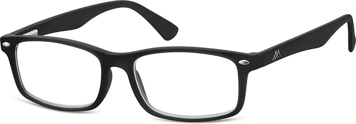 Montana Leesbril Unisex Rechthoekig Zwart (mr83) Sterkte +1.50 kopen