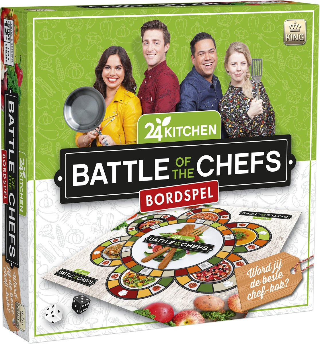 24Kitchen Battle of the Chefs gezelschapsspel