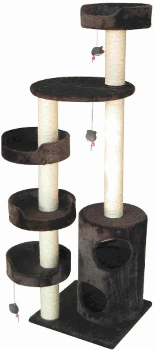 Topmast Krabpaal Cataluna Z grijs 45 * 45 * 157 cm
