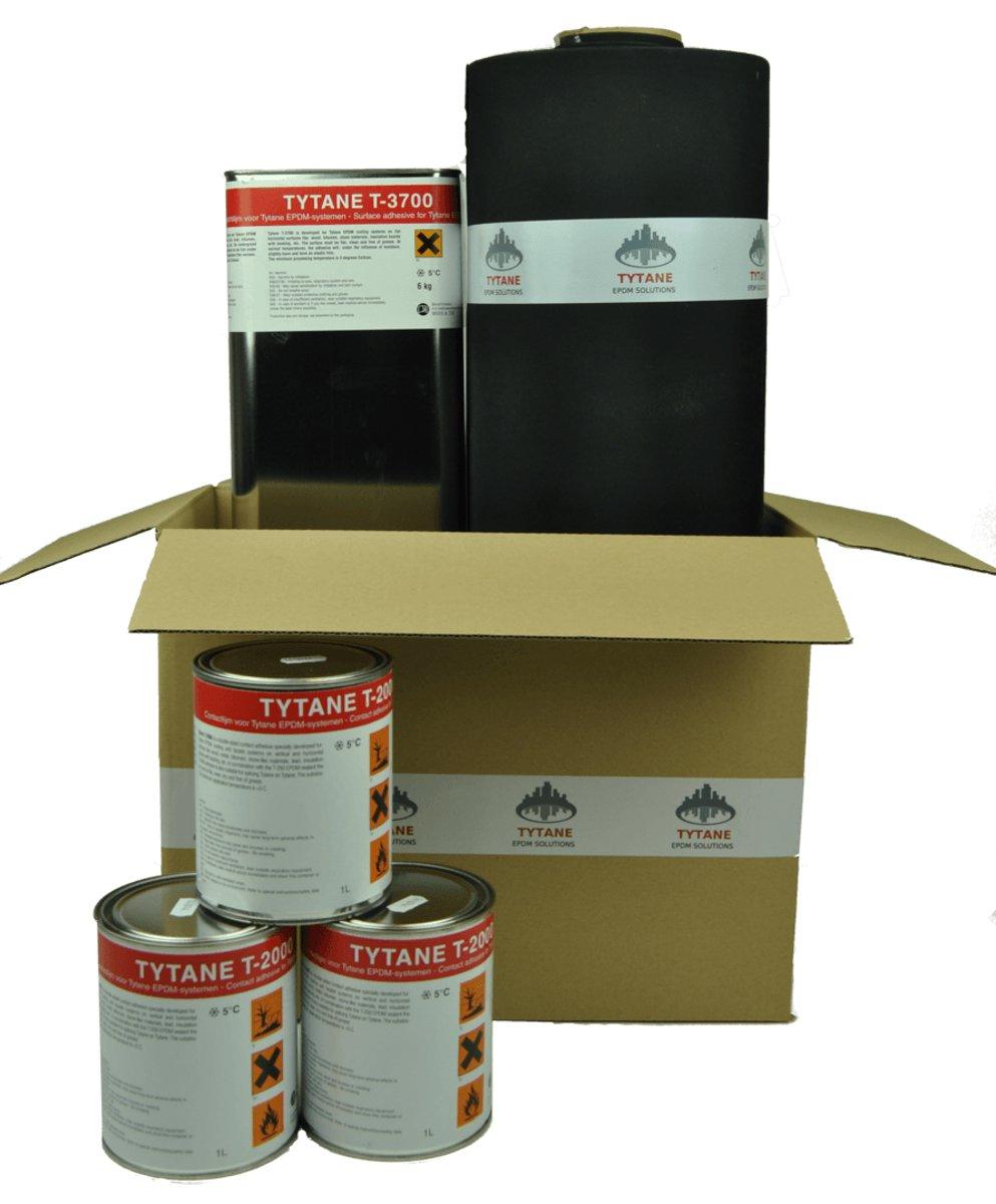 EPDM Dakbedekking. EPDM pakket Basic 1,30mm dikte-3,00 meter-9,00 meter kopen