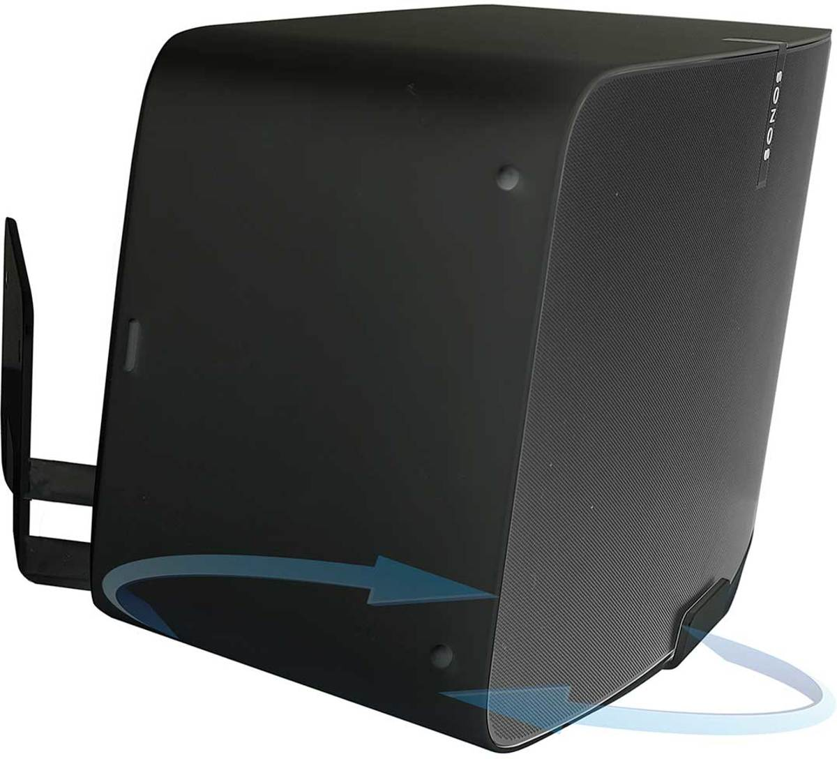 Vebos muurbeugel Sonos Play 5 gen 2 draaibaar 20 graden zwart kopen