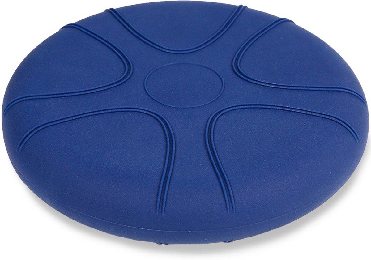 Wiebelkussen blauw 36 cm - voor kinderen en volwassenen (vanaf 90 kg) - trainingskussen - balanskussen kopen
