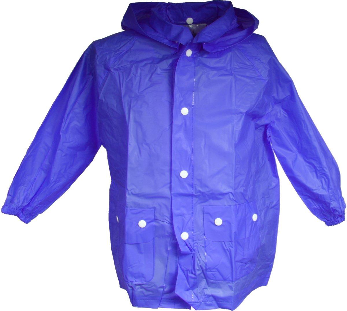 Free And Easy Regenponcho Junior Blauw Maat Xl kopen