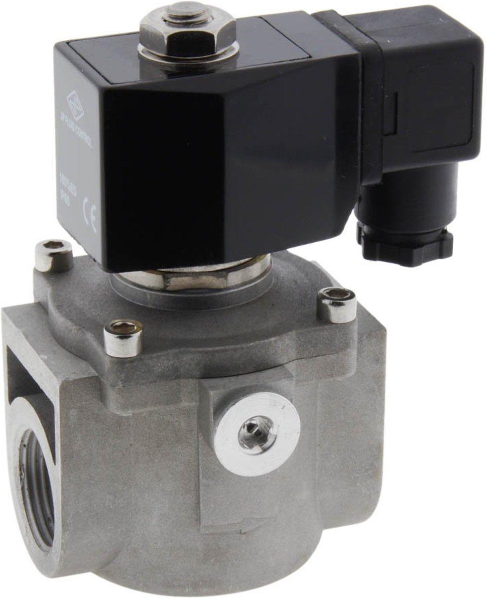 Magneetventiel LP-DA 3/4'' lage druk aluminium NBR 0-360mbar 230V AC kopen