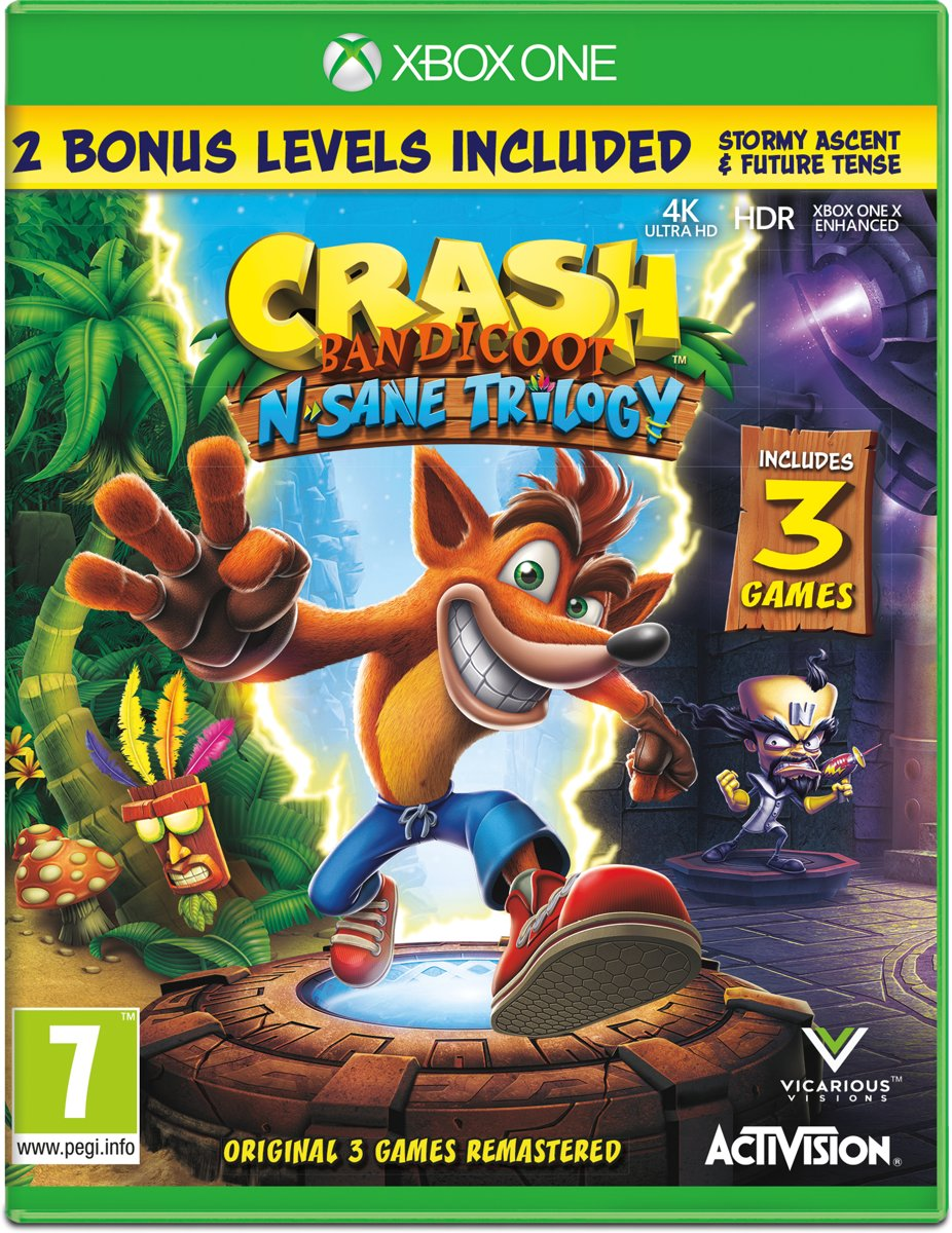Crash Bandicoot Xbox One