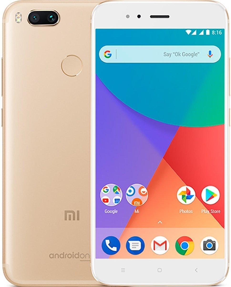 Xiaomi Mi A1 5,5 inch Android 7.1 Octa Core 3080mAh 4GB/64GB Goud kopen
