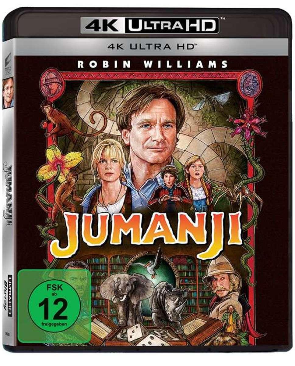 Jumanji (Ultra HD Blu-ray)-