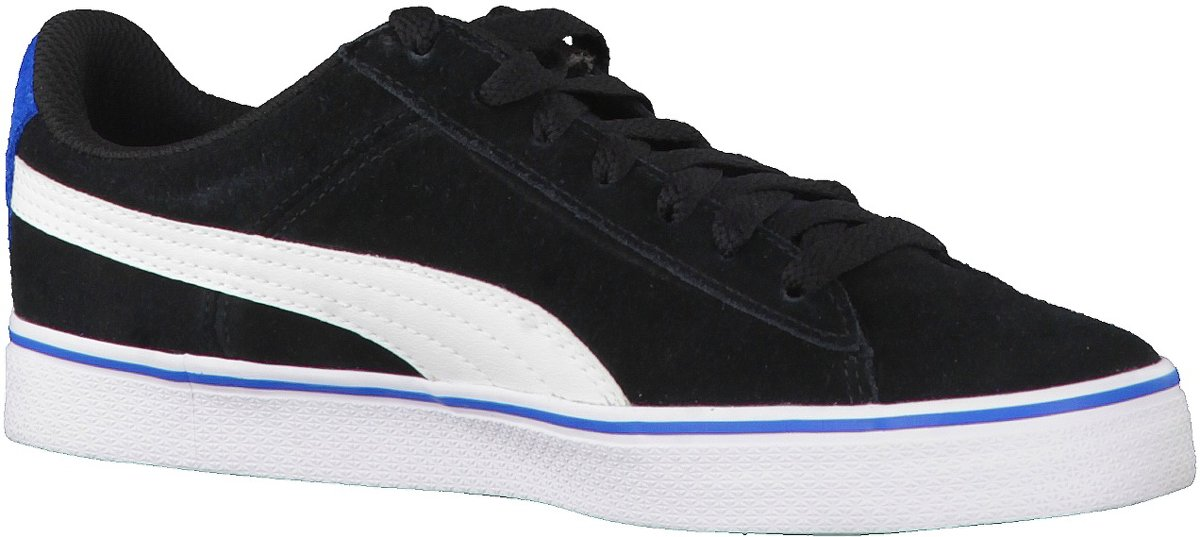Enfants Unisexes Pumas En 1948 Sneaker Vulc Jr - Noir (noir / Blanc), Taille: 38