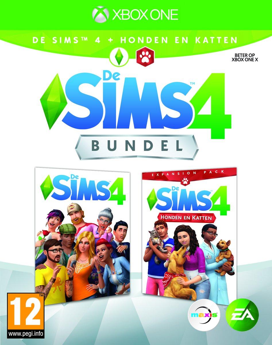 De Sims 4 + Honden en Katten Bundel Xbox One
