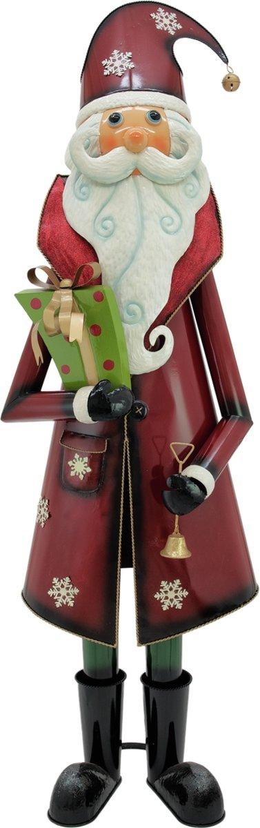 Europalms Kerstman , metaal, 195cm, red kopen