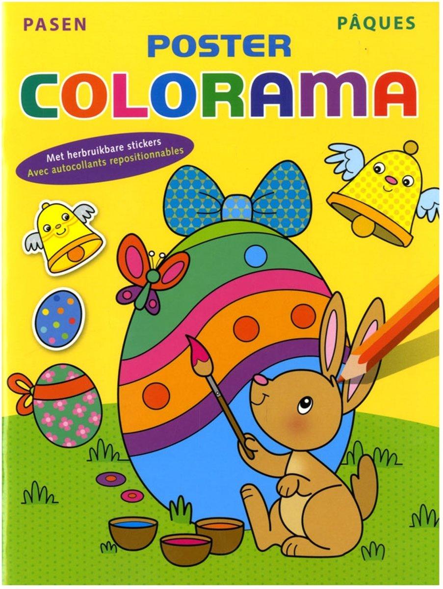 Pasen poster colorama / pâques poster colorama