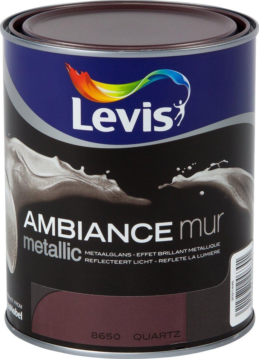 Levis Ambiance Mur Metallic Quartz 1L