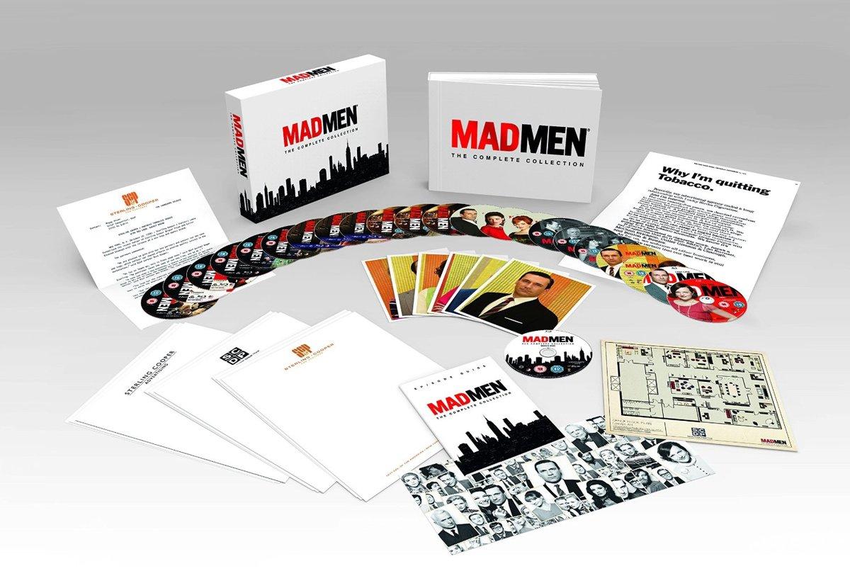 bol.com | Mad Men - Complete Season 1-7 Deluxe Collector\'s Box Set ...