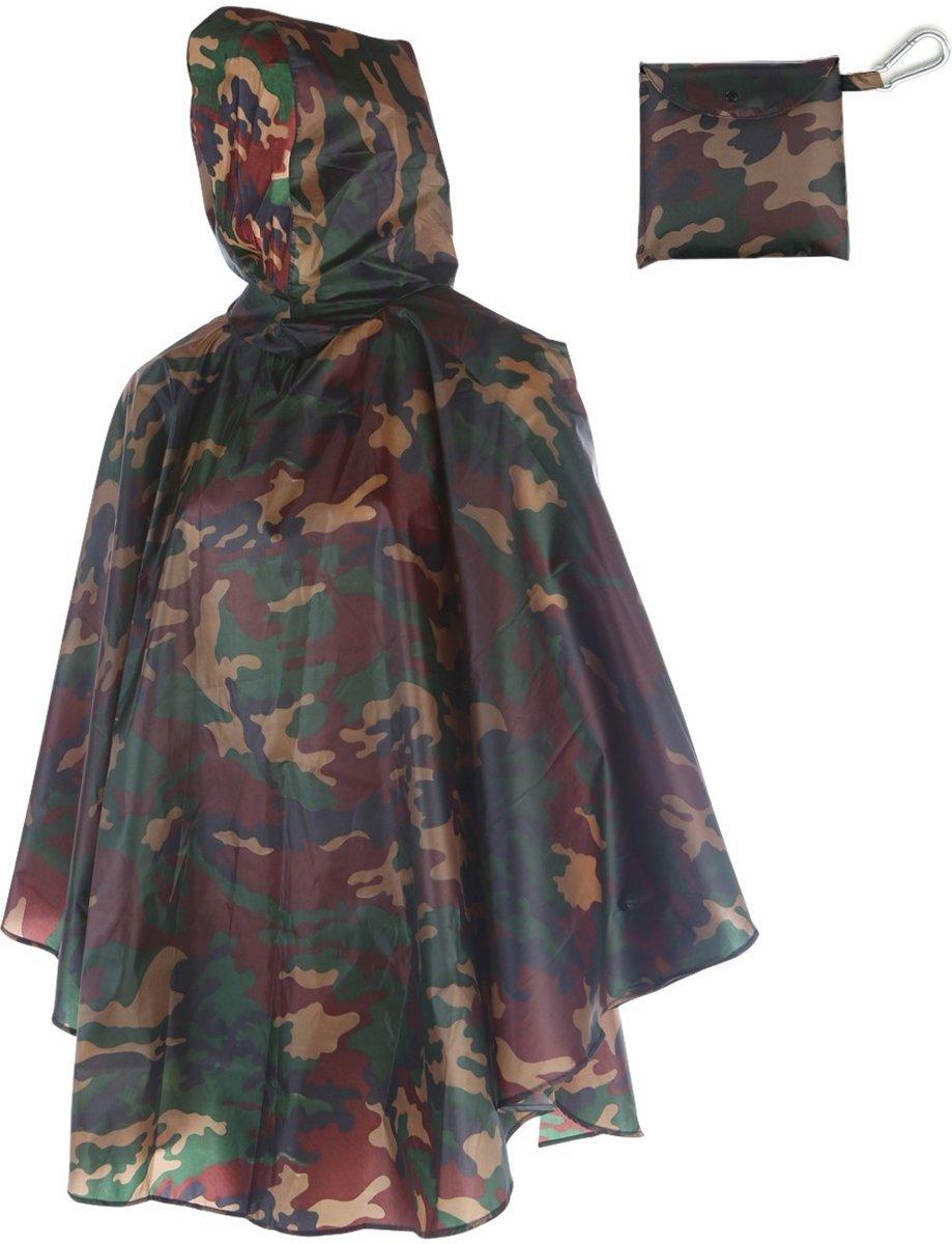 Love for Rain Regenponcho - Army camouflage kopen