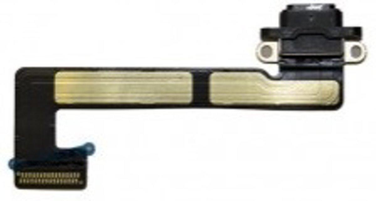Laad Connector Flex Kabel - Grijs - geschikt voor Apple iPad Mini 3 - Tablet Reparatie Onderdeel kopen