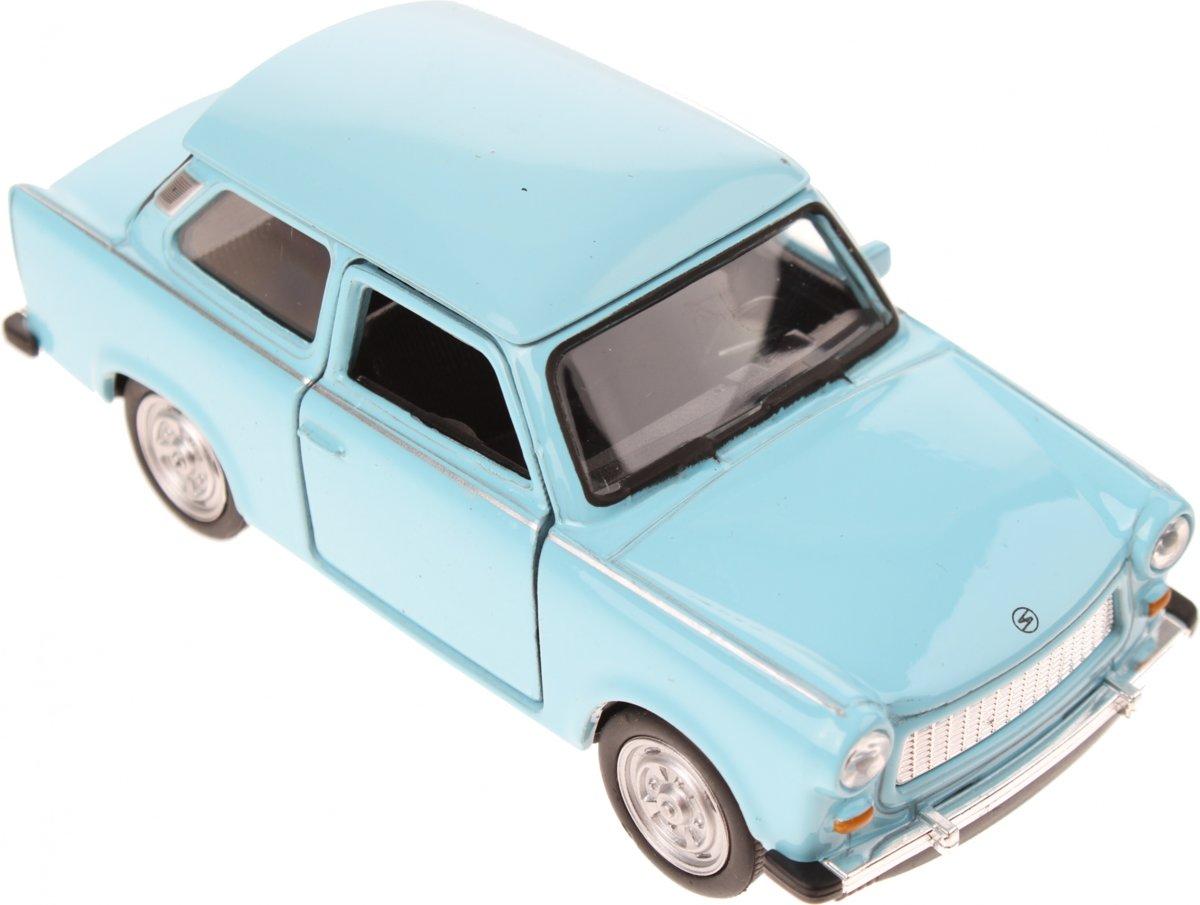 Welly Metalen Trabant Blauw 11,5 Cm