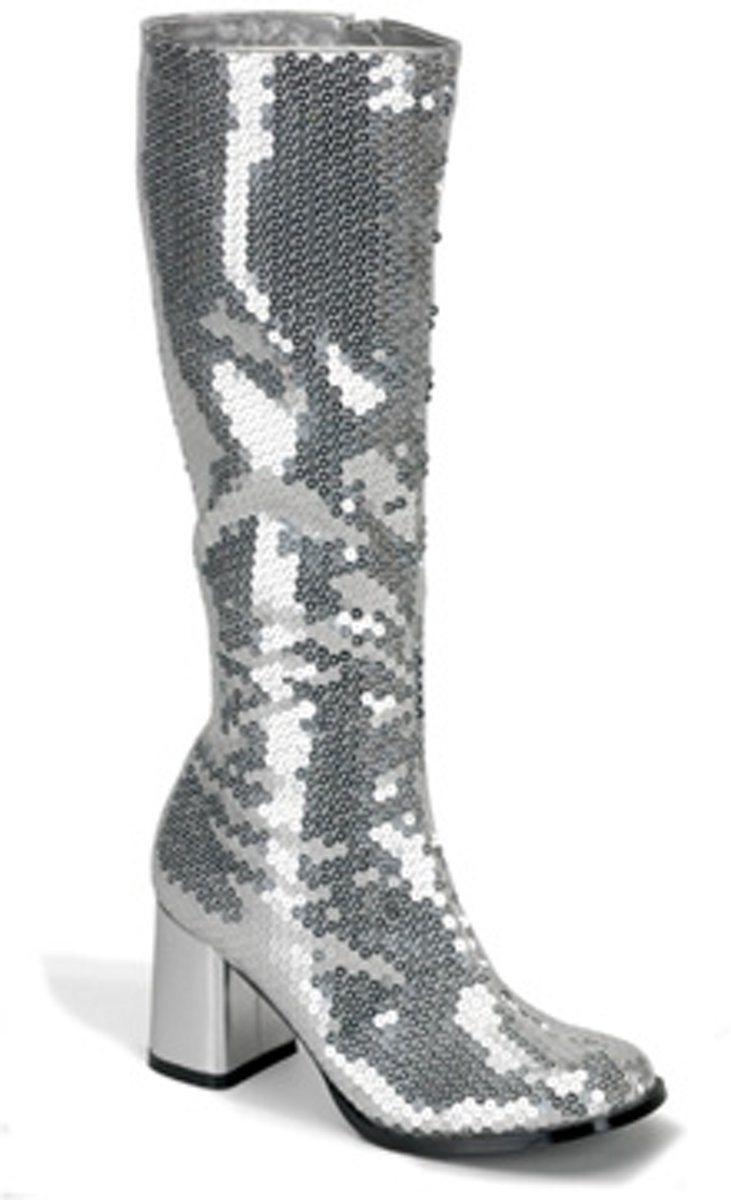 Spectacular-300SQ Silver sequins - (EU 41,5  US 11) - Bordello
