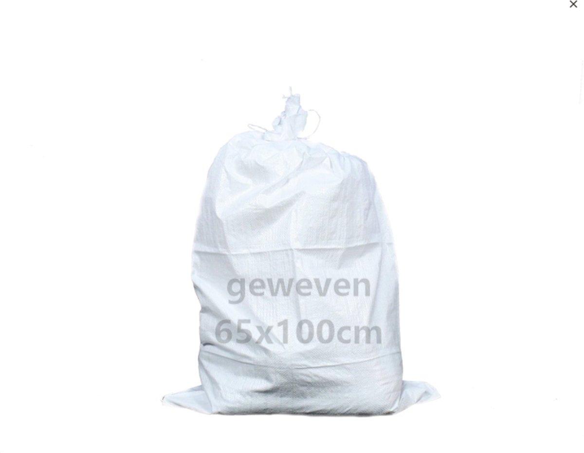 ERRO Storage Puinzakken - 10 stuks - Met koord - 65x100 - Geweven polypropyleen