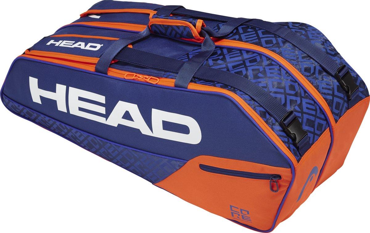 HEAD Core 6R Combi Tennistas Blauw Oranje kopen