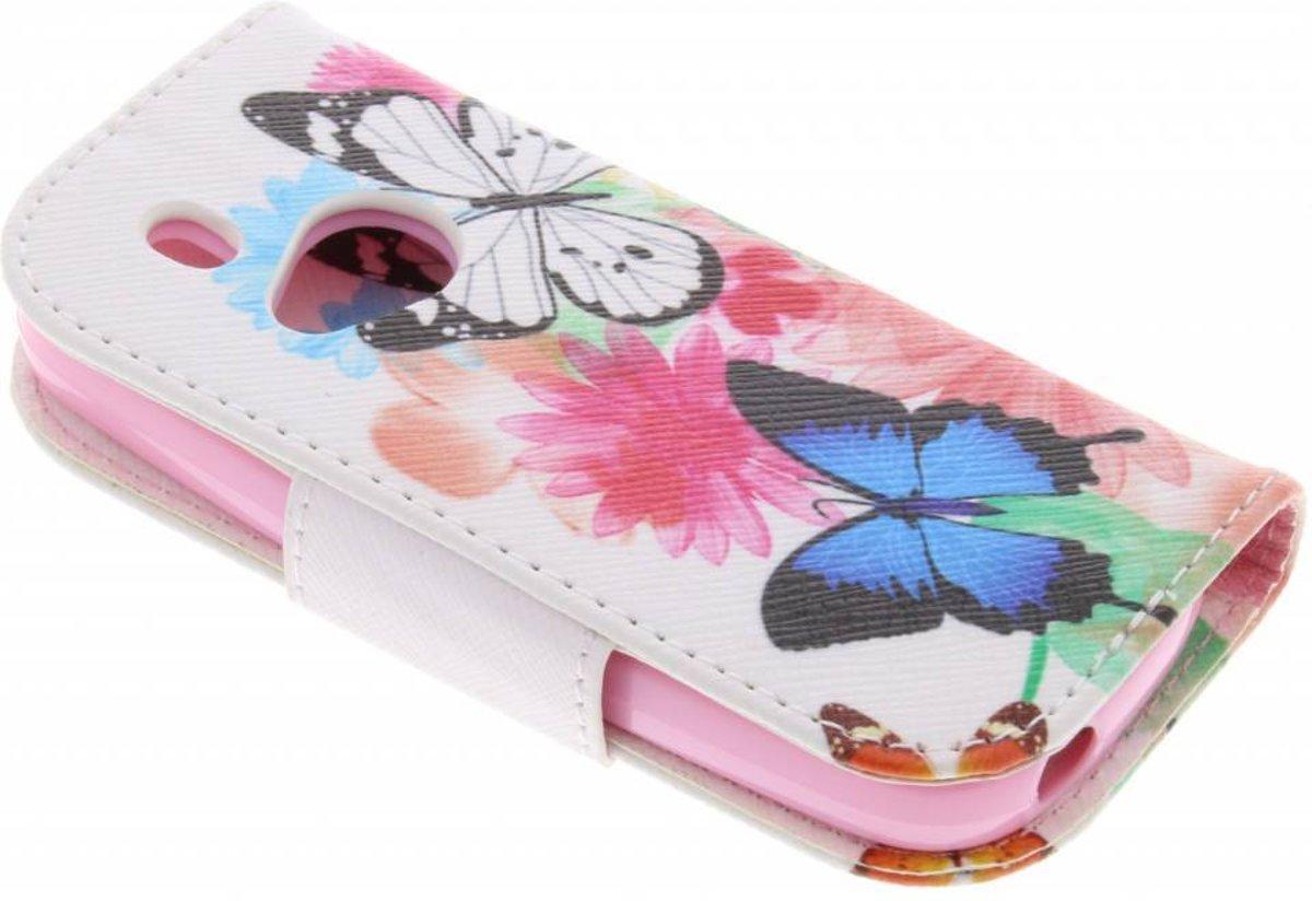 Conception Papillon Tpu Cas De Type De Livre Pour Le Nokia 3310 (2017) 1hQKEm