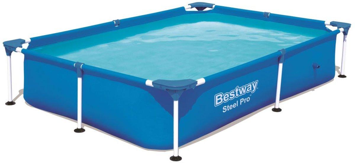 Bestway Splash Frame Zwembad - 221 x 150 x 43 cm