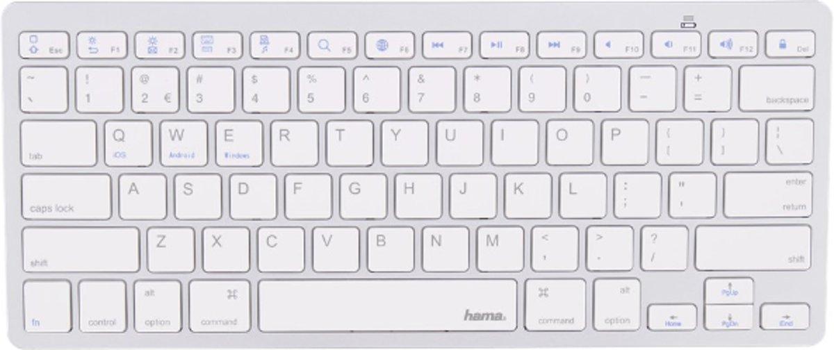 Hama Bluetooth QWERTY Toetsenbord Compact