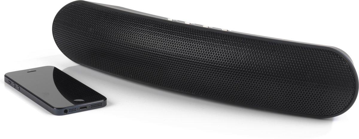 Intempo Curved Bluetooth Metallic Speaker (kleur: zwart) kopen