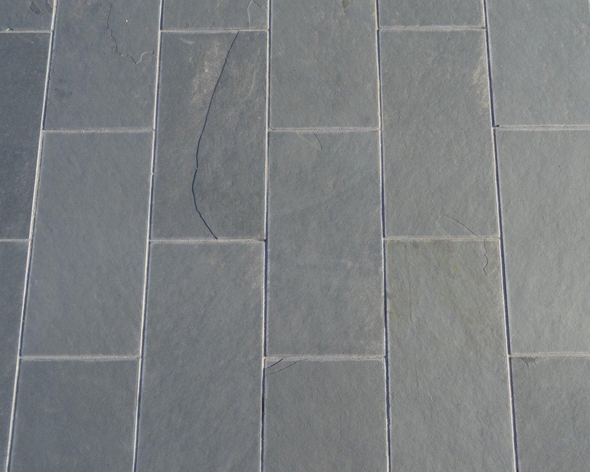 Vandix - Leisteen 60x60x1cm tegels grey slate natuur kopen