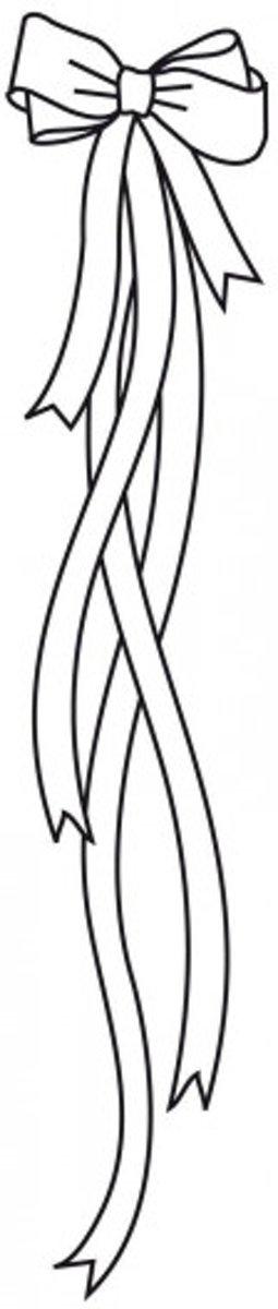 Afbeelding van product Darice • Embossing folder strik met lint