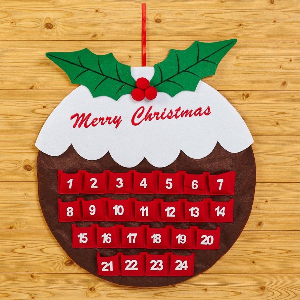 Neviti Kerst Pudding Adventkalender - vilt kopen