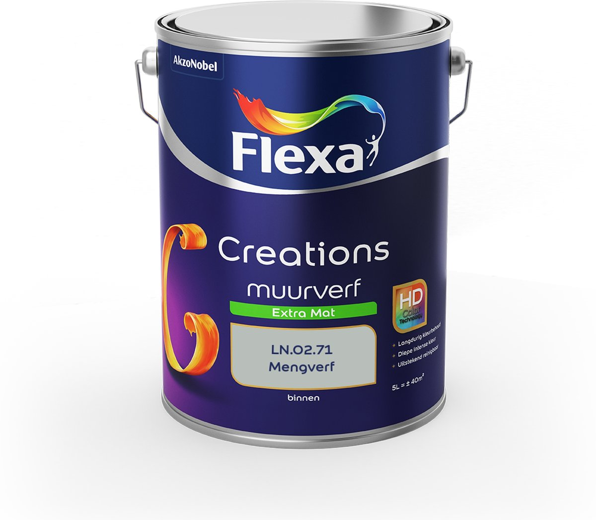 Flexa Creations Muurverf - Extra Mat - Colorfutures 2019 - LN.02.71 - 5 liter