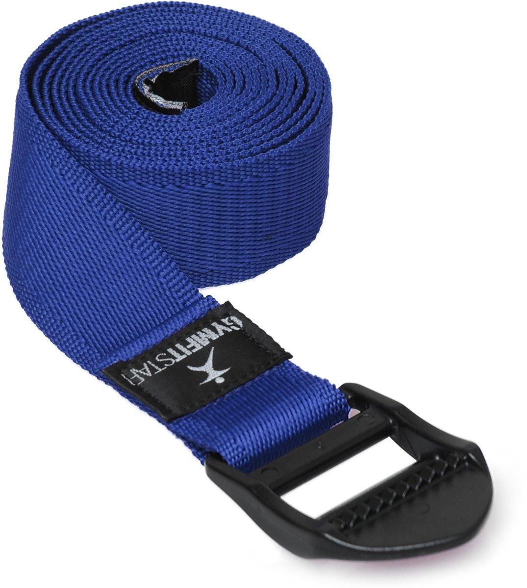 Yoga riem voor Yoga, Pilates & Fitness - PB 210cm blue Yoga riem YOGISTAR kopen