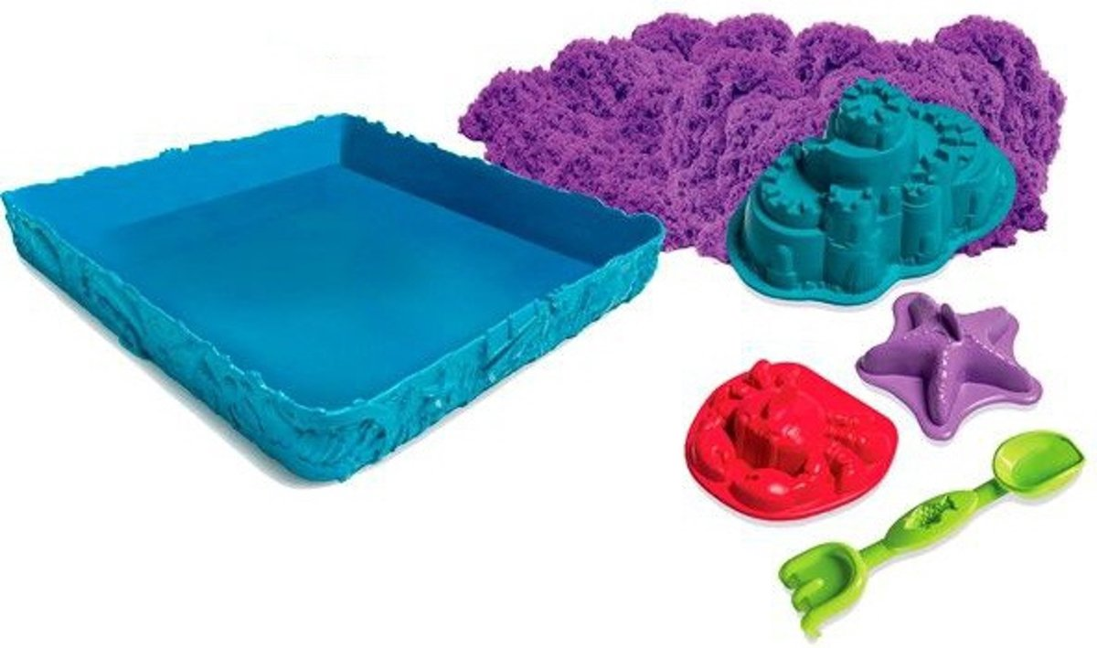 Kinetic Sand Box Set Purple (454 g)
