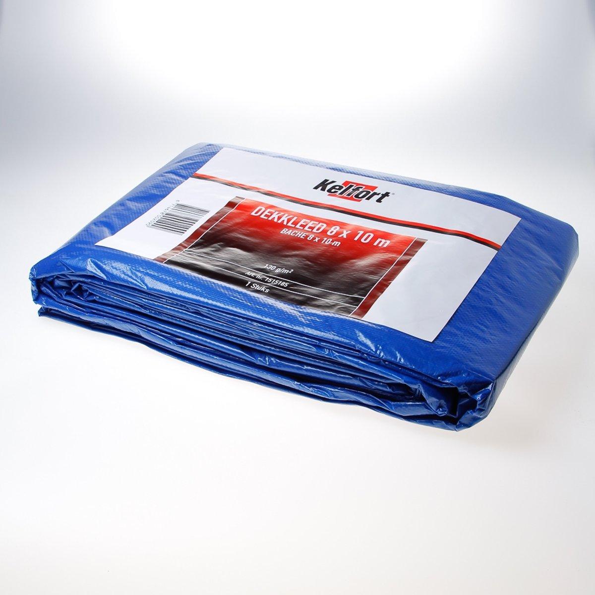 Kelfort dekkleed - +/- 8x10 mtr - zware kwaliteit - blauw