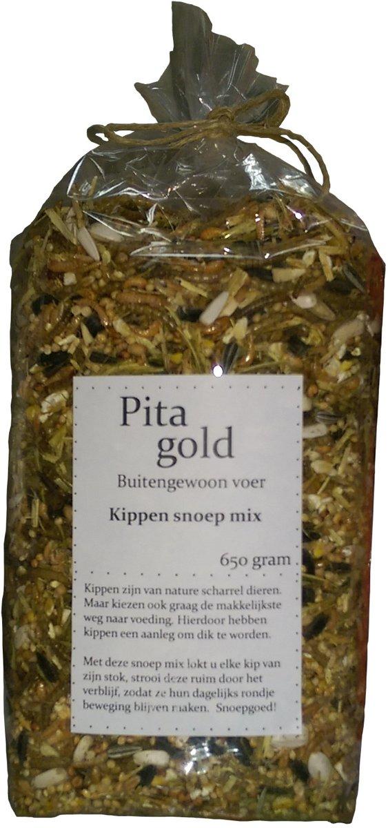 Pita Gold Kippen snoep mix 650 gram