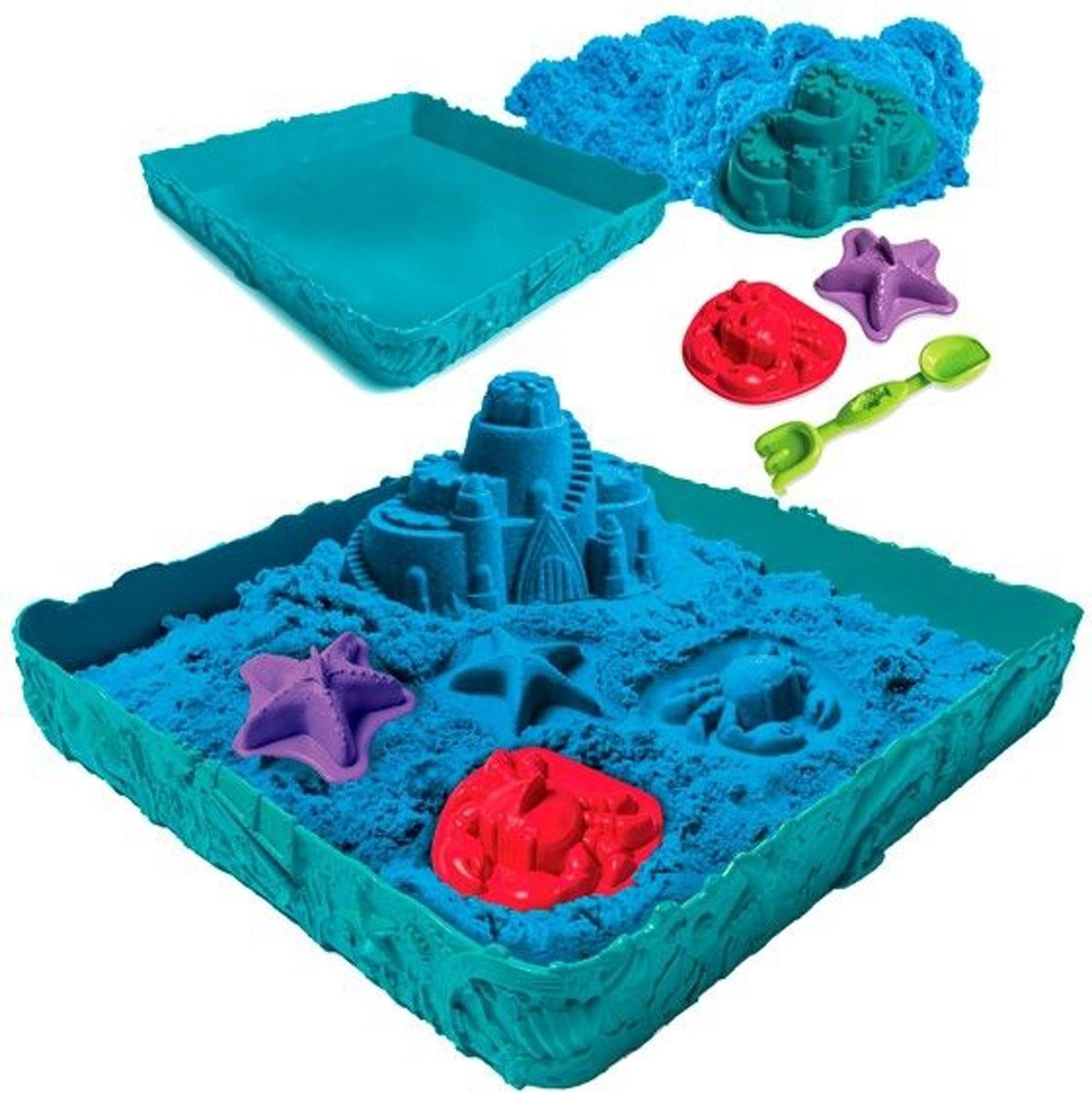 Kinetic Sand Box Set Blue (454 g)