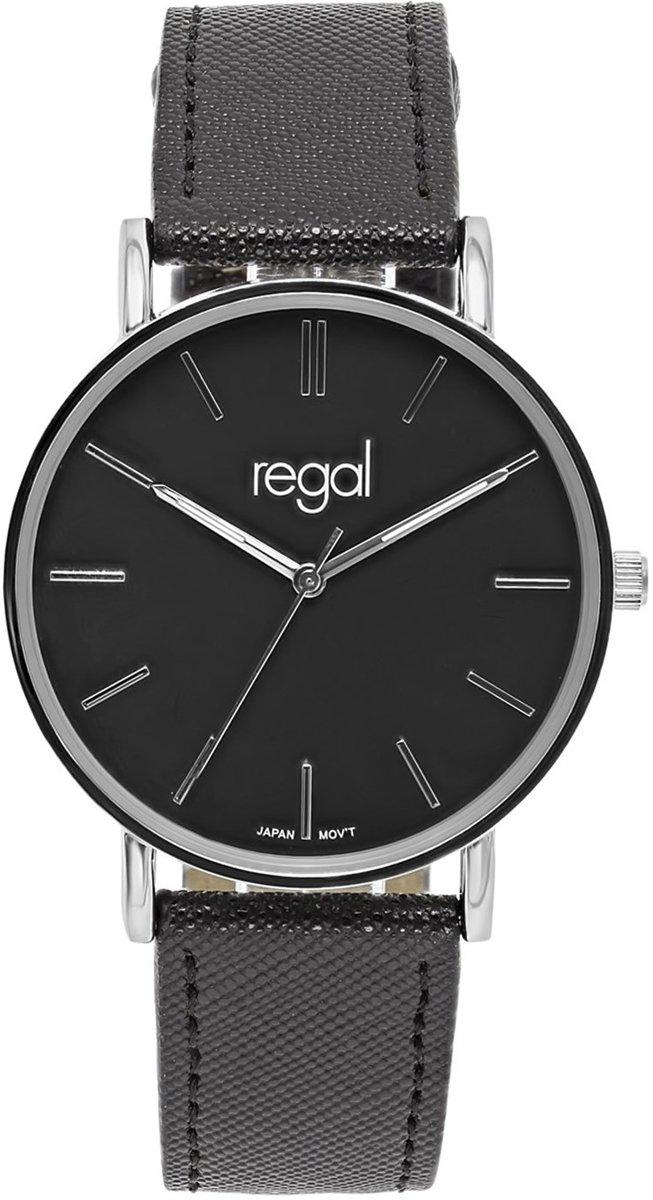 Regal - Regal slimline horloge met een zwarte band kopen