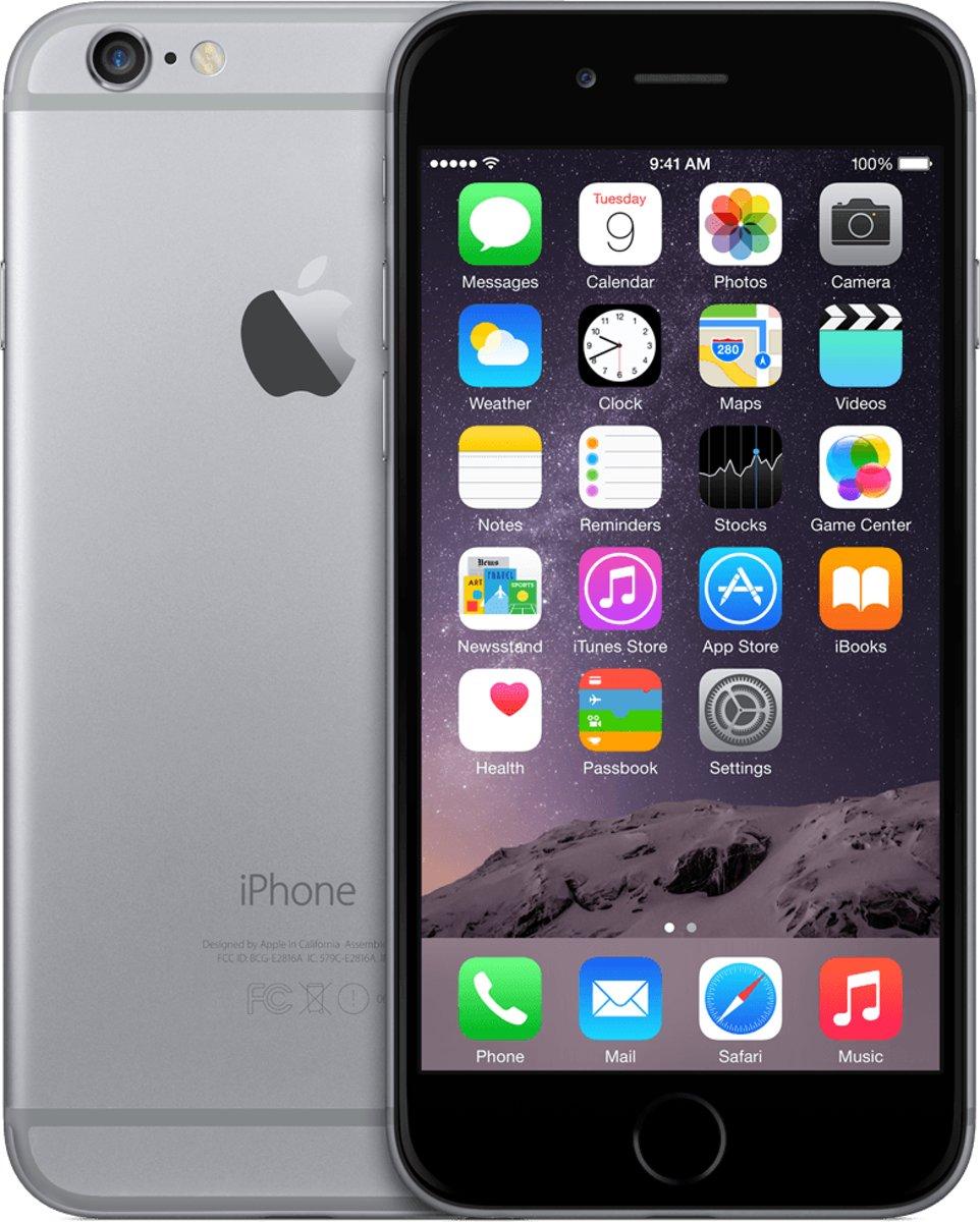 iPhone 6 64GB Spacegrijs Refurbished - Gradatie A kopen