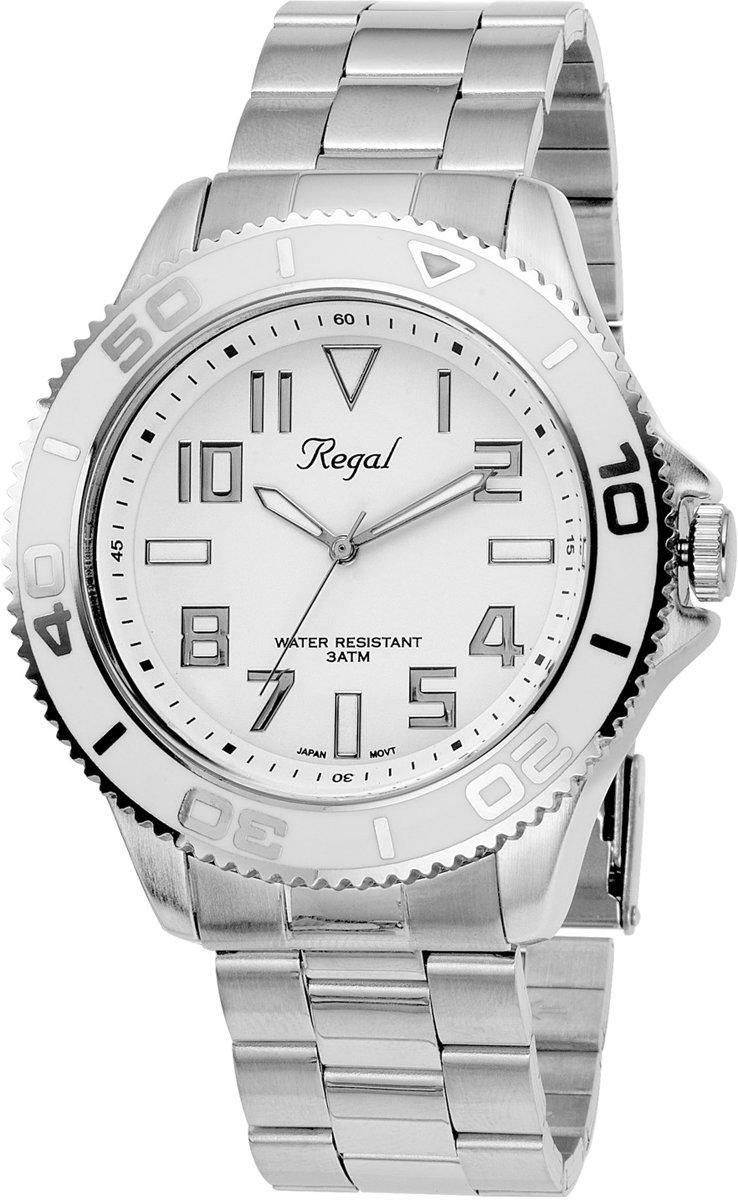 Regal R14793-112 - Horloge - Zilverkleurig kopen