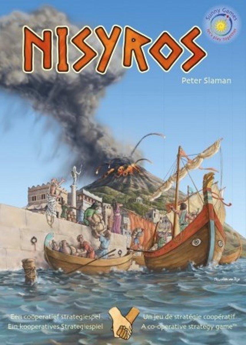 Nisyros - coöperatief strategische bordspel