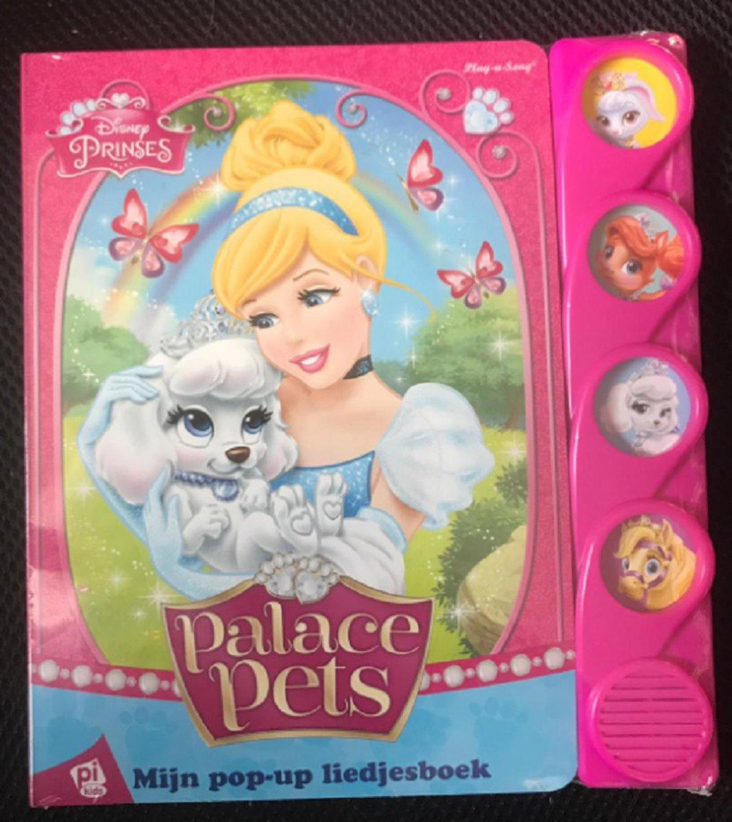 Disney prinses - Mijn pop-up liedjesboek