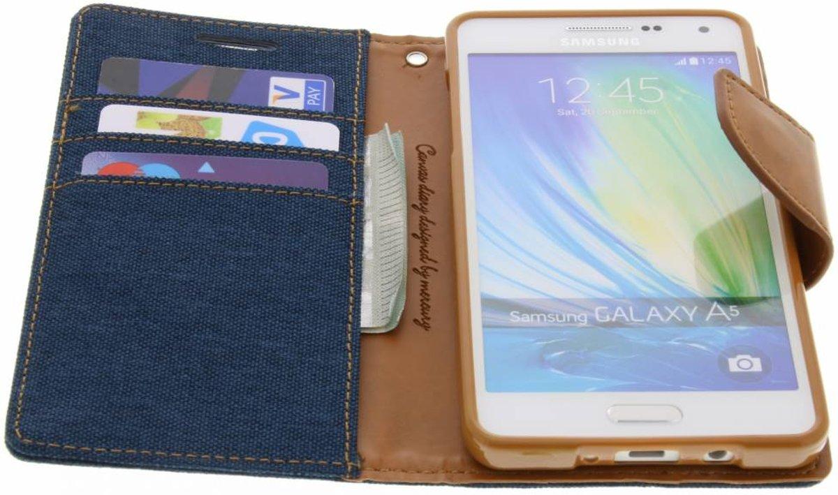 Mercury Goospery Canvas Diary Case Samsung Galaxy A5 2016 Gray