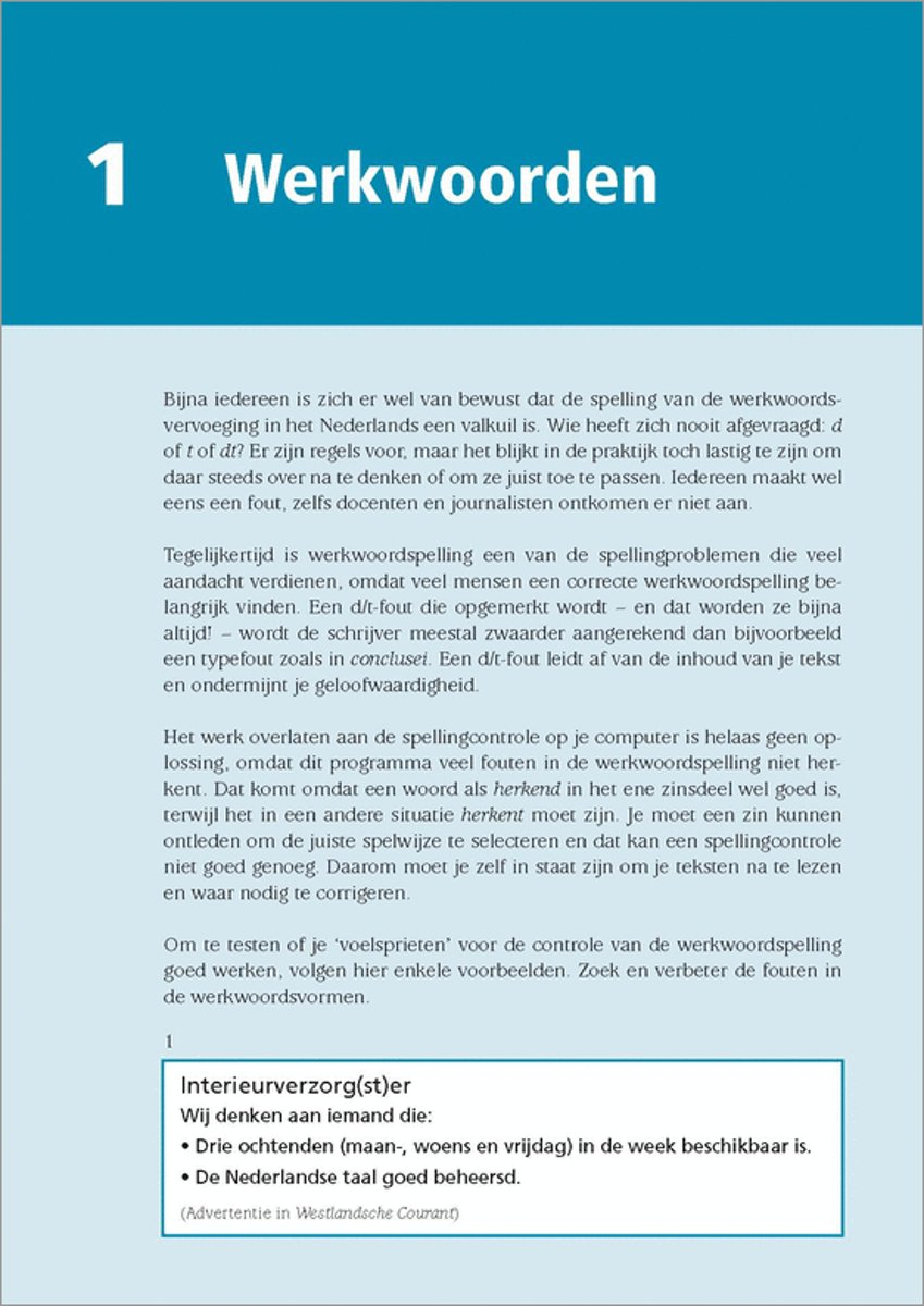 correcte spelling nederlandse taal