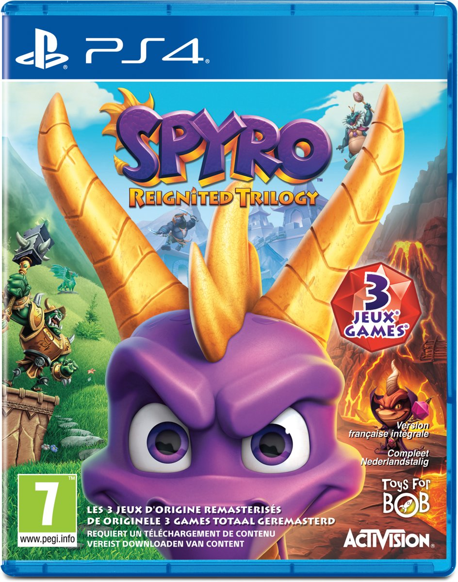 Spyro: Reignited Trilogy PlayStation 4