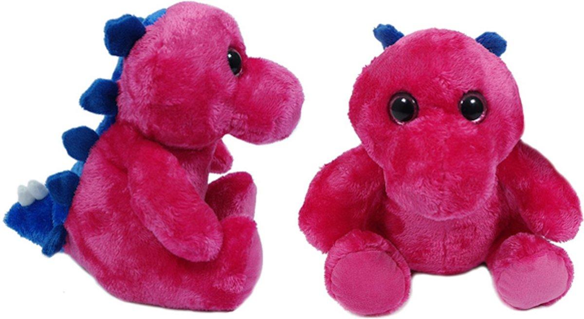 Afbeelding van product PIA Soft Toys  Dino roos 23 cm