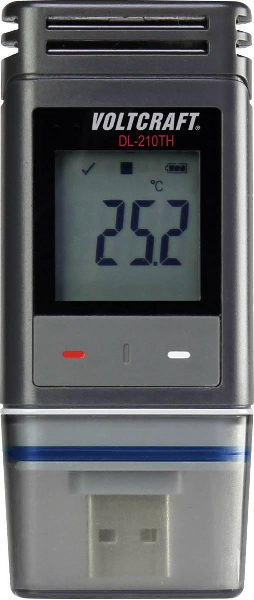 Temperatuur datalogger, Vocht datalogger VOLTCRAFT DL-210TH kopen